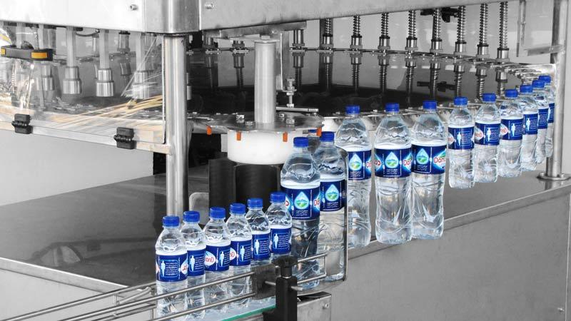 دستگاه پرکن آب معدنی pet