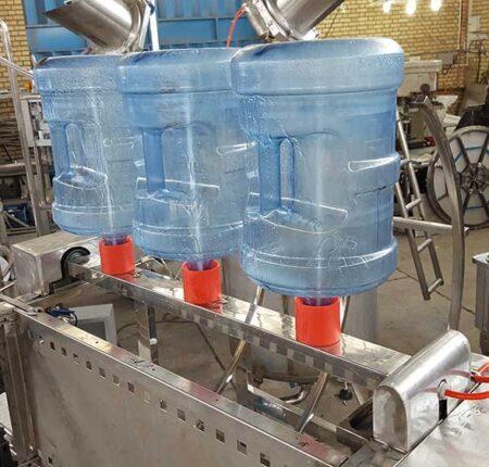 دستگاه بطری شویی 20 لیتری آب