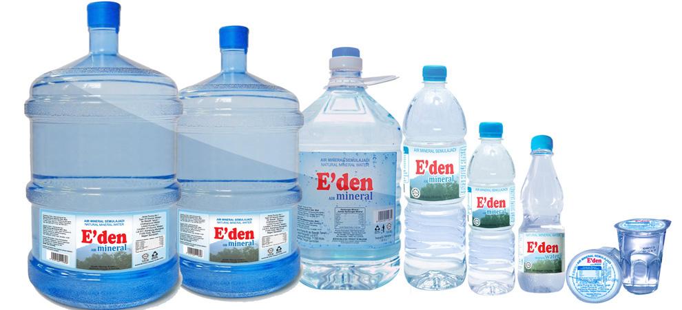 ظروف آب معدنی