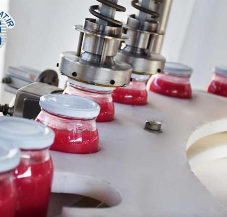 پرکن عسل - پرکن سس - پرکن مربا - پرکن شیره خرما - دستگاه پرکن - پرکن مایعات غلیظ